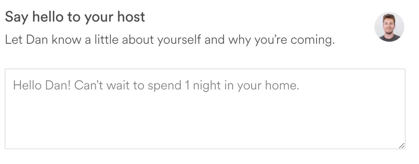 جعبه پیامAirbnb