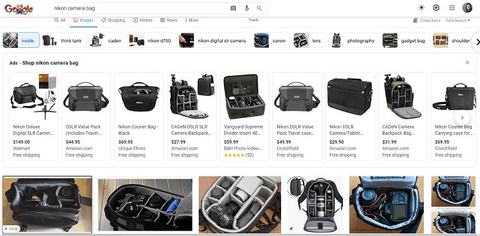 جستجوی تصویر برای یک محصول محبوب